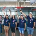 Математическата гимназия вБургас с медали от световното състезание по математика Po Leung Kuk в Хонконг